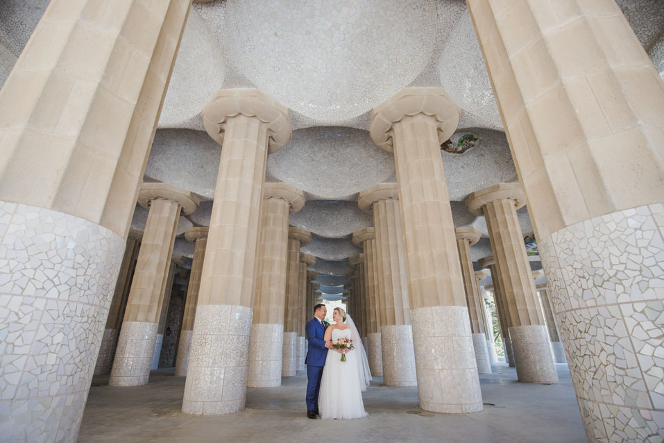 wedding photographer parc guell