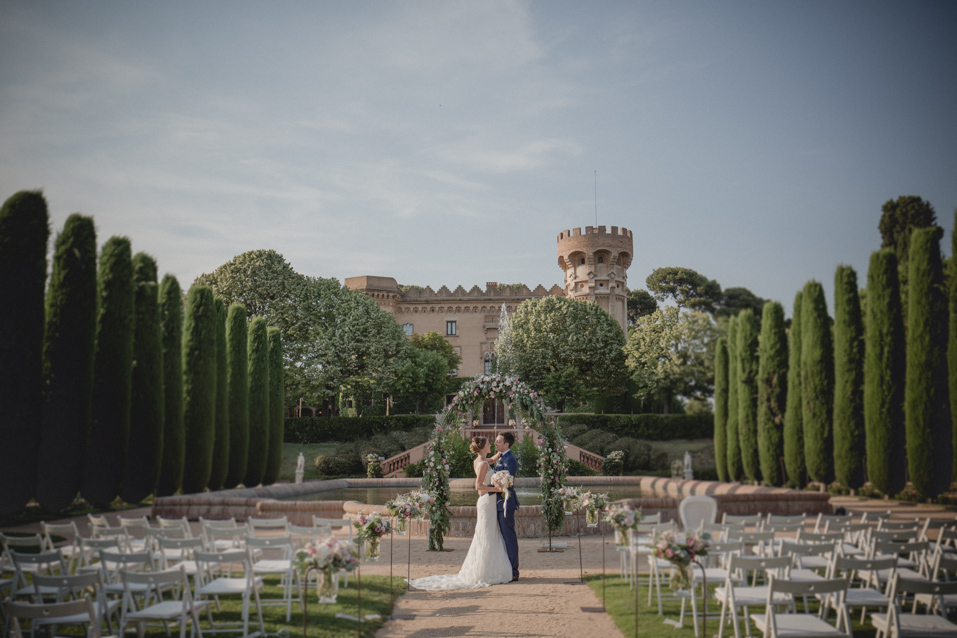 wedding at castel sant marçal
