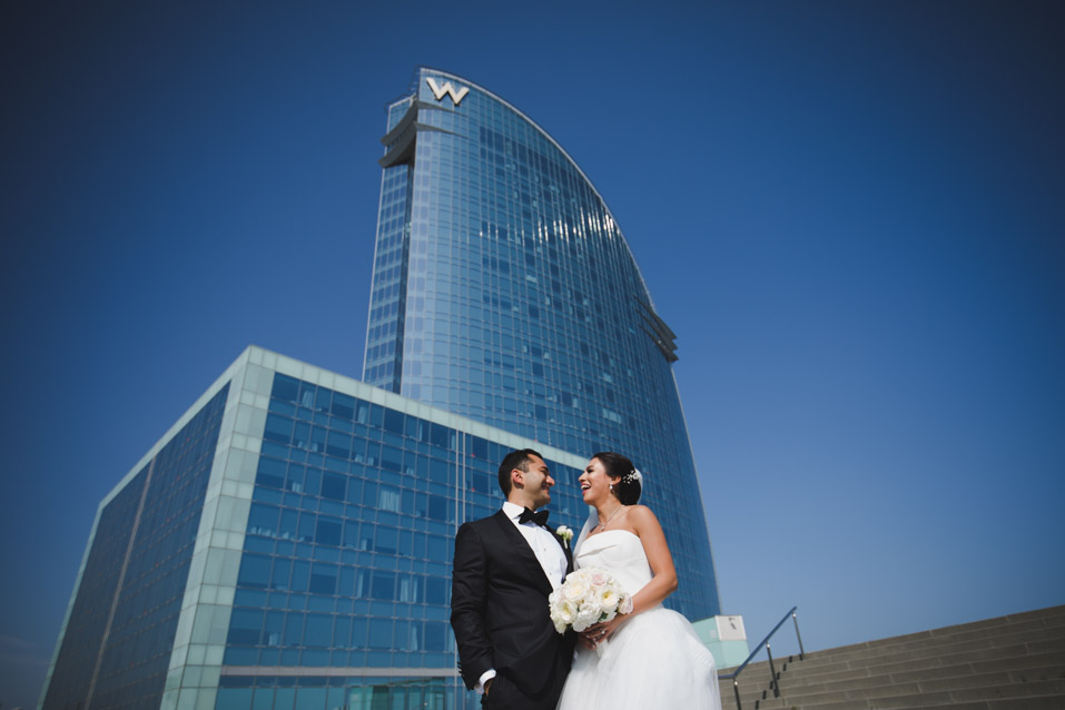 wedding photographer hotel w