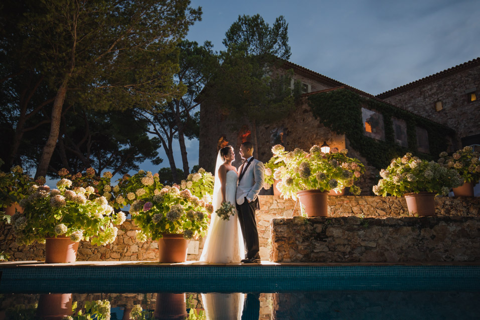 wedding at convent blanes