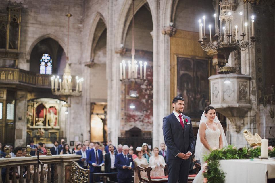 boda en iglesia Basilica de Sant Just i Pastor