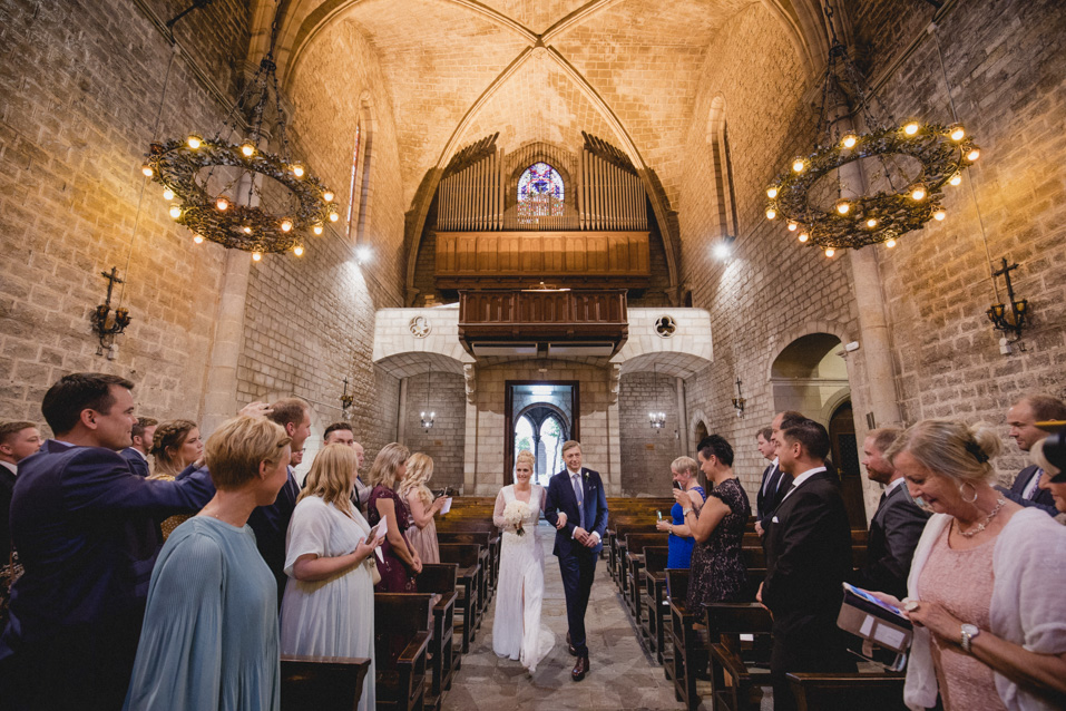 wedding at santa anna barcelona