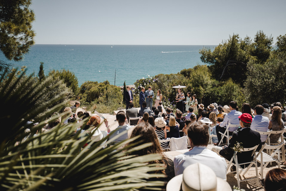 ceremony at casal del mar